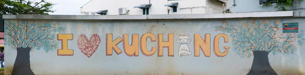 I <3 Kuching street art