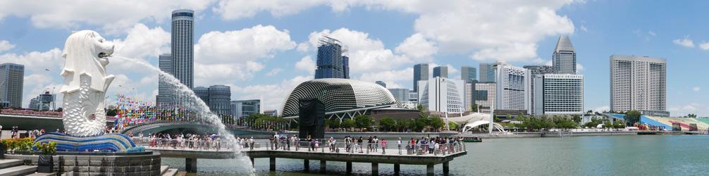 The Merlion at Marina Bay, Singapore
