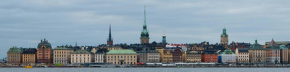 Eastern side of Gamla Stan, Stockholm