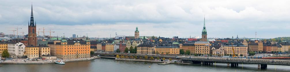 Western side of Gamla Stan, Stockholm