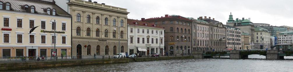 View of Stora Hamnkanalen (Big Harbour Canal)