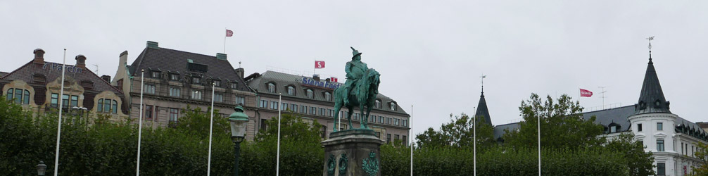 Karl X Gustav Statue at Stortorget (Great Square)
