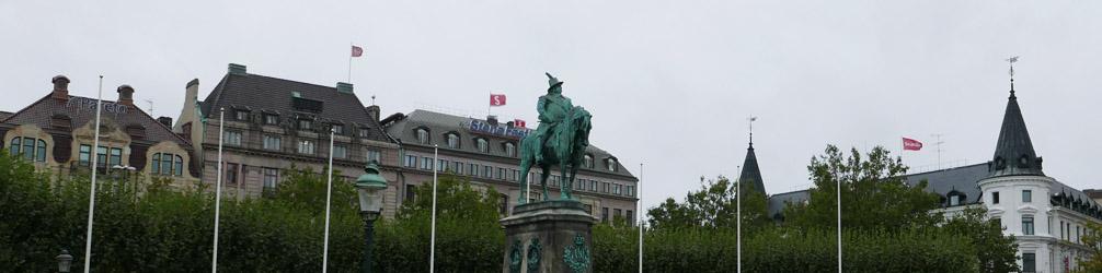 Karl X Gustav Statue at Stortorget (Great Square)