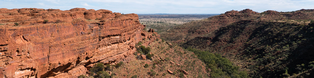 Kings Canyon as seen from Cotterill's Lookout